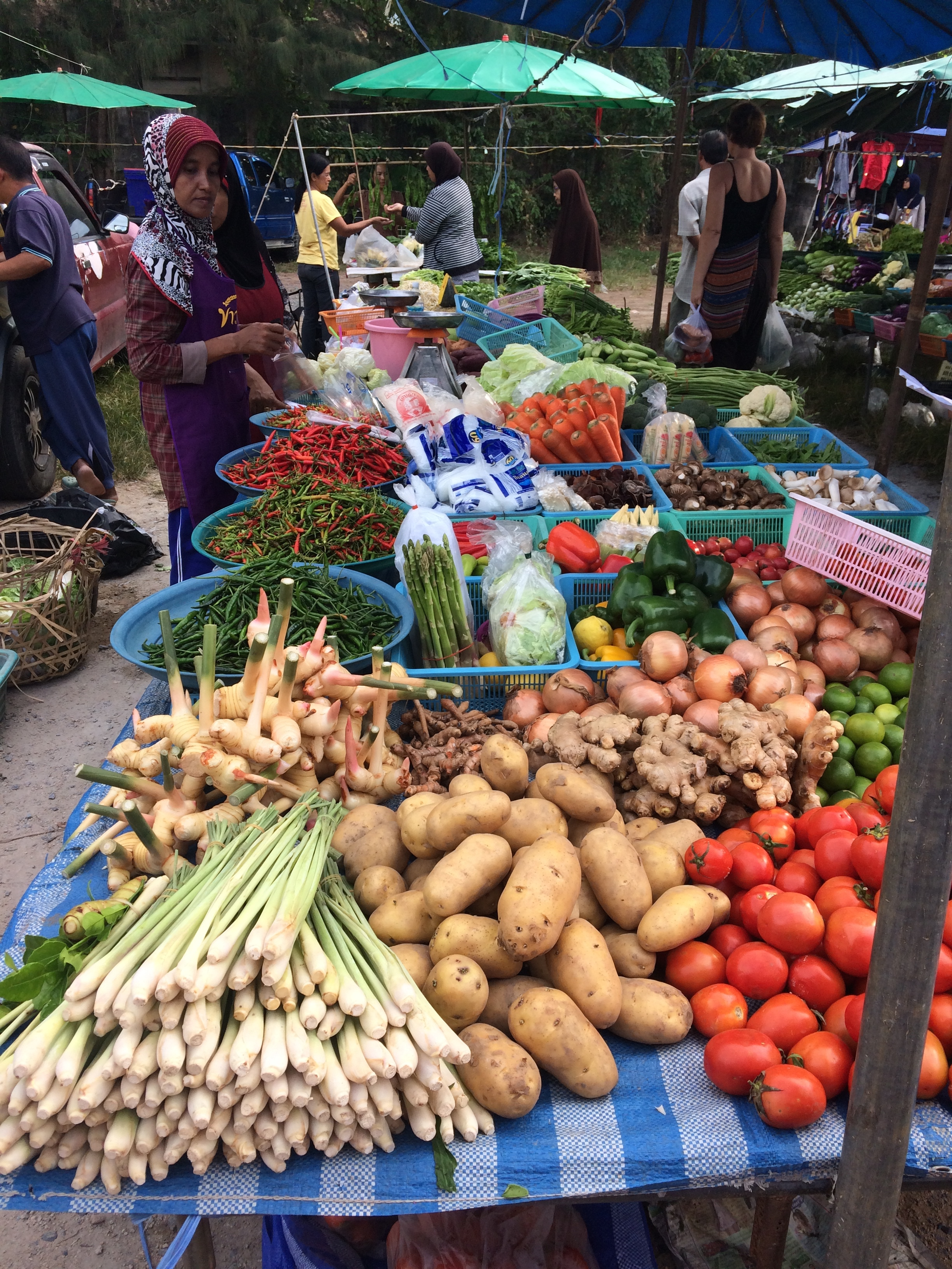 Local market where we get most of our produce.