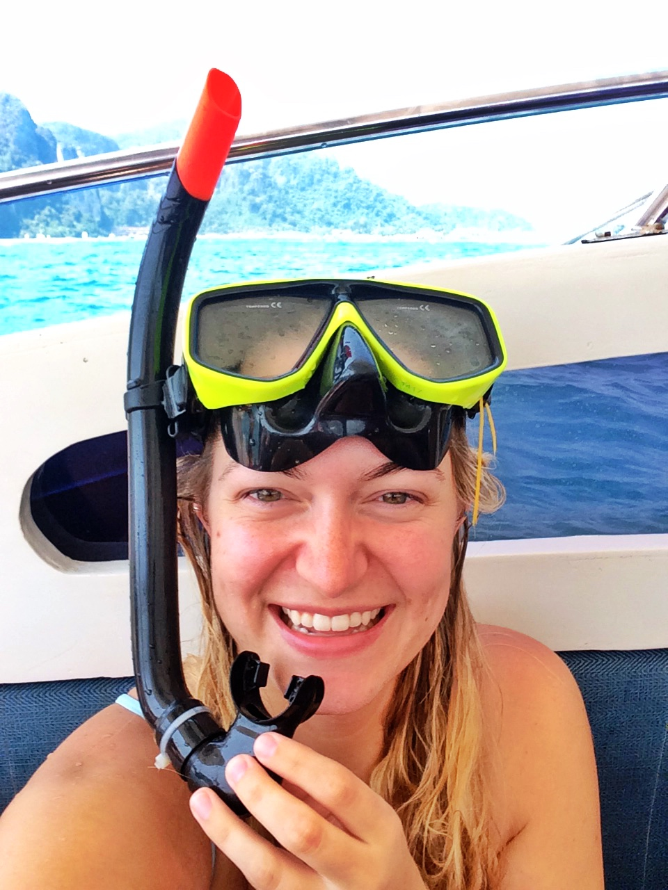 Went snorkeling in the Phi Phi islands and saw about a million little fish!